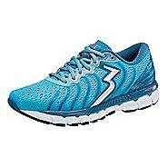 Womens 361 Degrees Stratomic Running Shoe - Aqua Blue/Diva Pink 7.5