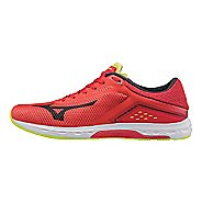 Mens Mizuno Wave Sonic Racing Shoe - Red/Black 11.5