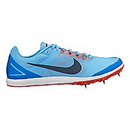 Womens Nike Zoom Rival D 10 Track and Field Shoe - Blue 10.5