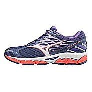 Womens Mizuno Wave Paradox 4 Running Shoe - Patriot Blue/White 6.5