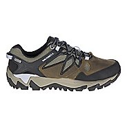 Womens Merrell All Out Blaze 2 Waterproof Hiking Shoe - Dark Olive 6