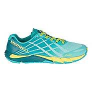 Womens Merrell Bare Access Flex Running Shoe - Aruba Blue 5