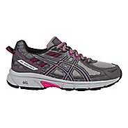 Womens ASICS GEL-Venture 6 Trail Running Shoe - Carbon/Pink 5.5