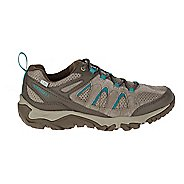 Womens Merrell Outmost Vent Waterproof Hiking Shoe - Boulder 10