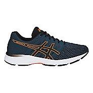 Mens ASICS GEL-Exalt 4 Running Shoe - Blue/Black/Orange 12