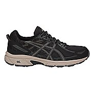 Mens ASICS GEL-Venture 6 Trail Running Shoe - Black/Grey 10.5