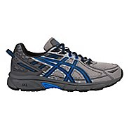 Mens ASICS GEL-Venture 6 Trail Running Shoe - Grey/Blue 14