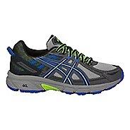 Kids ASICS GEL-Venture 6 Running Shoe - Grey/Blue 2.5Y