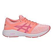 Kids ASICS Roadhawk FF Running Shoe - Pink/White 7Y