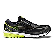 Mens Brooks Ghost 10 GTX Running Shoe - Black/Lime 8