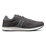Mens Saucony Freedom Runner Wool Casual Shoe - Charcoal 5.5