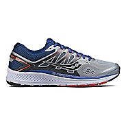 Mens Saucony Omni 16 Running Shoe - Grey/Navy 12.5