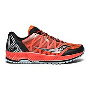 Mens Saucony Koa TR Trail Running Shoe - VizRed/Black 12