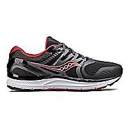 Mens Saucony Redeemer ISO 2 Running Shoe - Black/Red 8.5