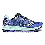 Womens Saucony Koa TR Trail Running Shoe - Violet/Aqua 6.5