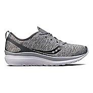 Womens Saucony Swivel Casual Shoe - Grey Heather 5.5