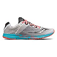 Womens Saucony Type A8 Racing Shoe - White/Red/Blue 9