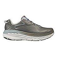 Mens Hoka One One Bondi Leather Walking Shoe - Charcoal 10.5
