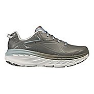 Mens Hoka One One Bondi Leather Walking Shoe - Charcoal 7.5