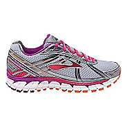 Womens Brooks Defyance 9 Running Shoe - Silver/Charcoal 5