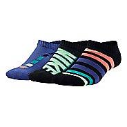 Nike Kids Performance Cushion No Show 3 pack Socks - Multi S