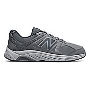 Mens New Balance 847v3 Walking Shoe - White/Grey 10