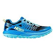 Womens Hoka One One  Speed Instinct 2 Trail Running Shoe - Blue/Black 8