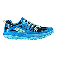 Womens Hoka One One  Speed Instinct 2 Trail Running Shoe - Blue/Black 9