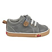 Boys See Kai Run Stevie II Casual Shoe - Grey Leather 11C