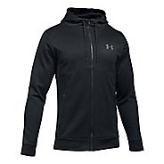 Mens Under Armour Fleece Full-Zip Half-Zips & Hoodies Technical Tops