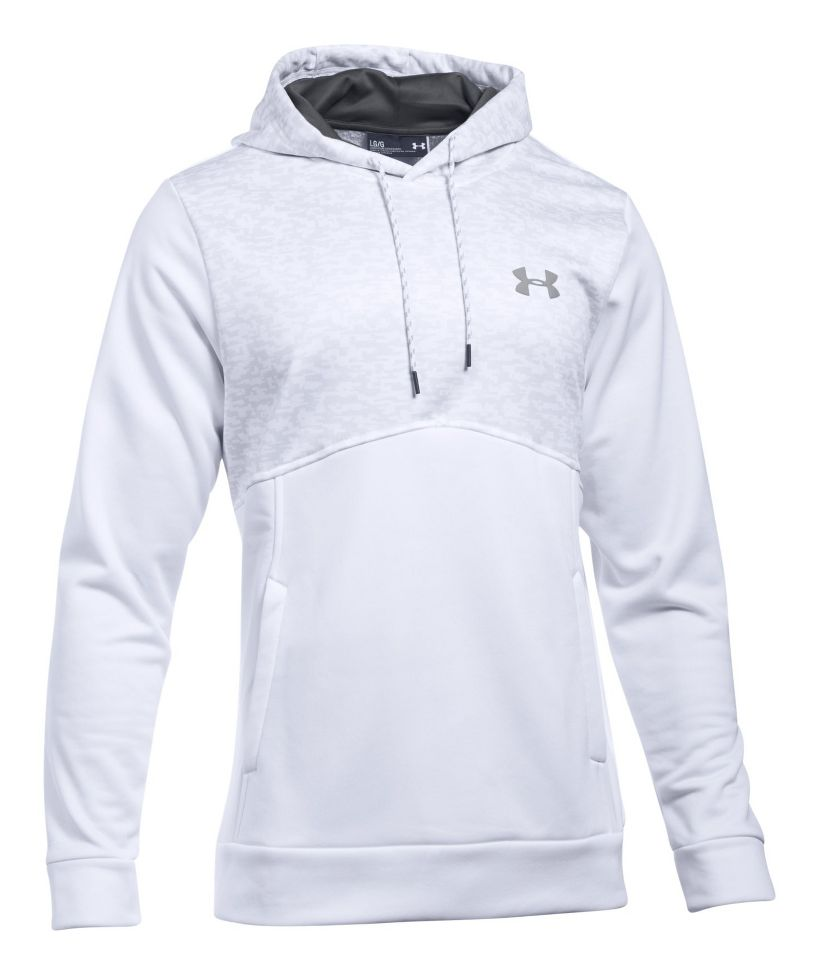 21c1cafa071 Mens Under Armour Fleece Hood - Digi Texture Half-Zips   Hoodies ...