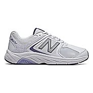 Womens New Balance 847v3 Walking Shoe - White/Grey 6