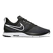 Womens Nike Zoom Strike Running Shoe - Black/White 11
