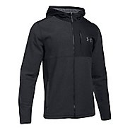 Mens Under Armour CGI Full-Zip Hood Half-Zips & Hoodies Technical Tops