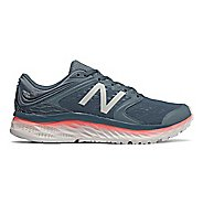 Womens New Balance Fresh Foam 1080v8 Running Shoe - Sky/Coral 11.5
