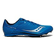 Mens Saucony Vendetta 2 Track and Field Shoe - Blue/Silver 4.5