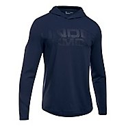 Mens Under Armour Sportstyle Stretch Half-Zips & Hoodies Technical Tops