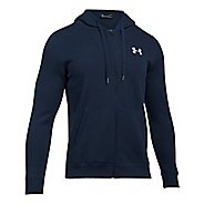 Mens Under Armour Rival Fitted Full-Zip Long Sleeve Technical Tops
