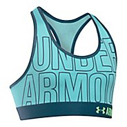 Under Armour Girls Graphic Armour Sports Bras - Blue Infinity YXL