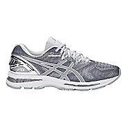 Mens ASICS GEL-Nimbus 20 Platinum Running Shoe - Carbon/Silver 10.5