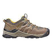 Mens Keen Gypsum II WP Hiking Shoe - Brown/Yellow 10.5
