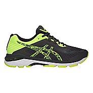 Mens ASICS GT-2000 6 Lite-Show Running Shoe - Dark Grey/Yellow 12