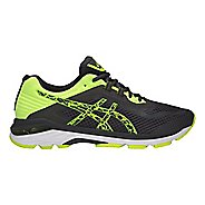 Mens ASICS GT-2000 6 Lite-Show Running Shoe - Dark Grey/Yellow 9.5