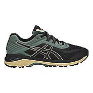 Mens ASICS GT-2000 6 Trail Running Shoe - Black/Forest 8