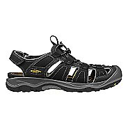 Mens Keen Rialto H2 Sandals Shoe - Black/Gargoyle 7.5
