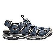 Mens Keen Rialto H2 Sandals Shoe - Raven/Bossa Nova 12
