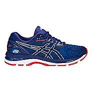 Mens ASICS GEL-Nimbus 20 Running Shoe - Black/White 10.5