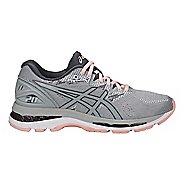Womens ASICS GEL-Nimbus 20 Running Shoe - Grey/Pink 12