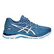 Womens ASICS GEL-Nimbus 20 Running Shoe - Azure/White 7