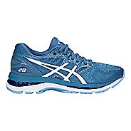 Womens ASICS GEL-Nimbus 20 Running Shoe - Azure/White 9